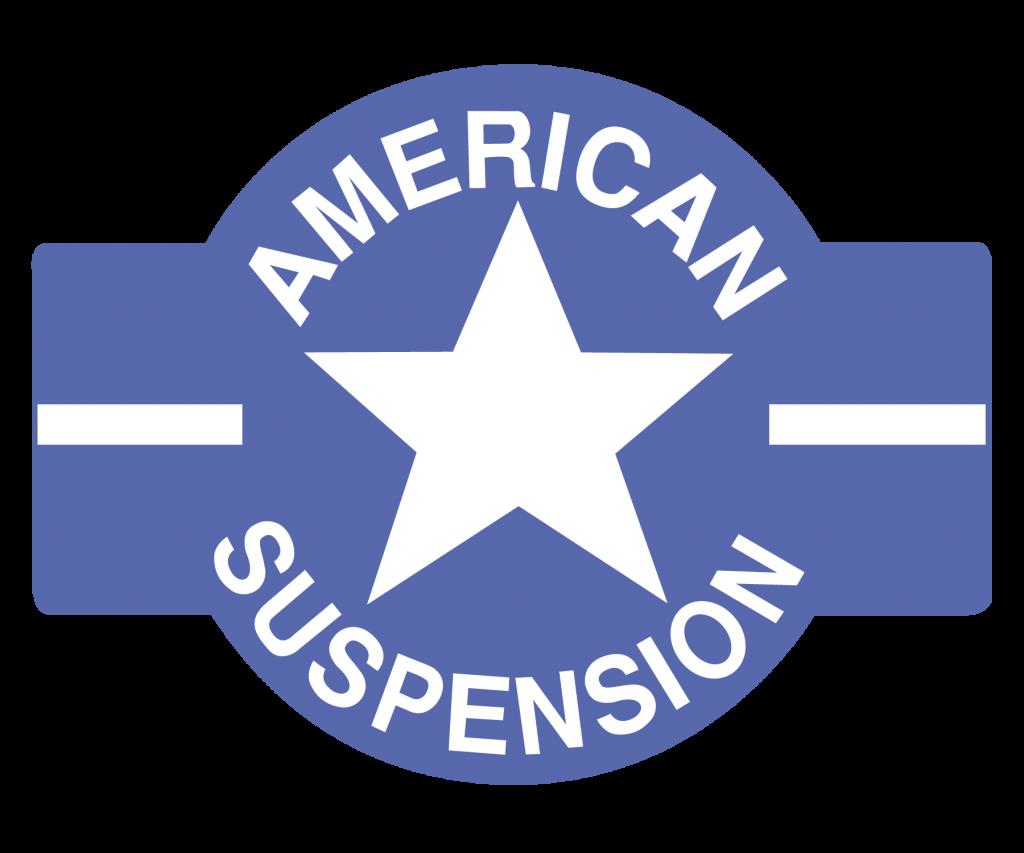 American Suspension Logo sticker